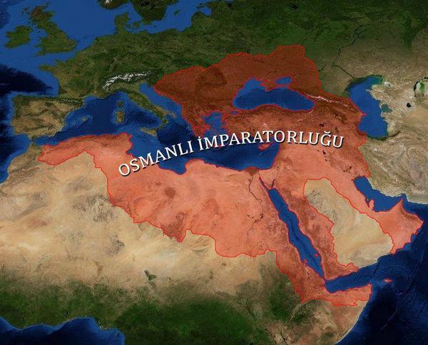الامبراطورية العثمانية خريطة الامبراطورية العثمانية في اقصى امتداها Ansamacademy أكاديمية أنسام